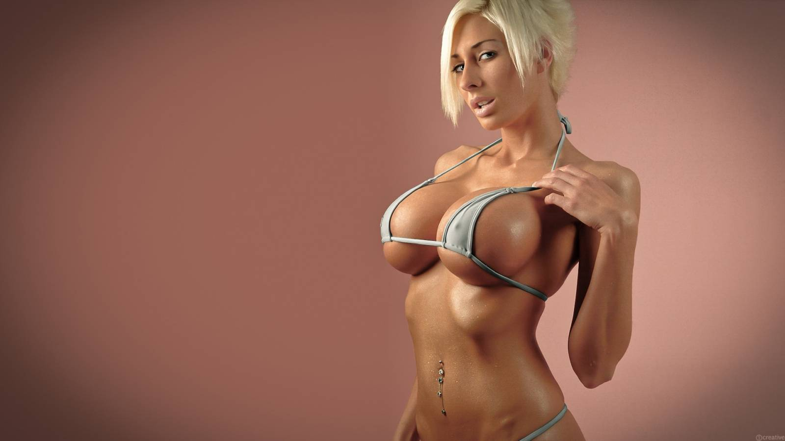 Big boobs walpaper in 3d effected sexy photos